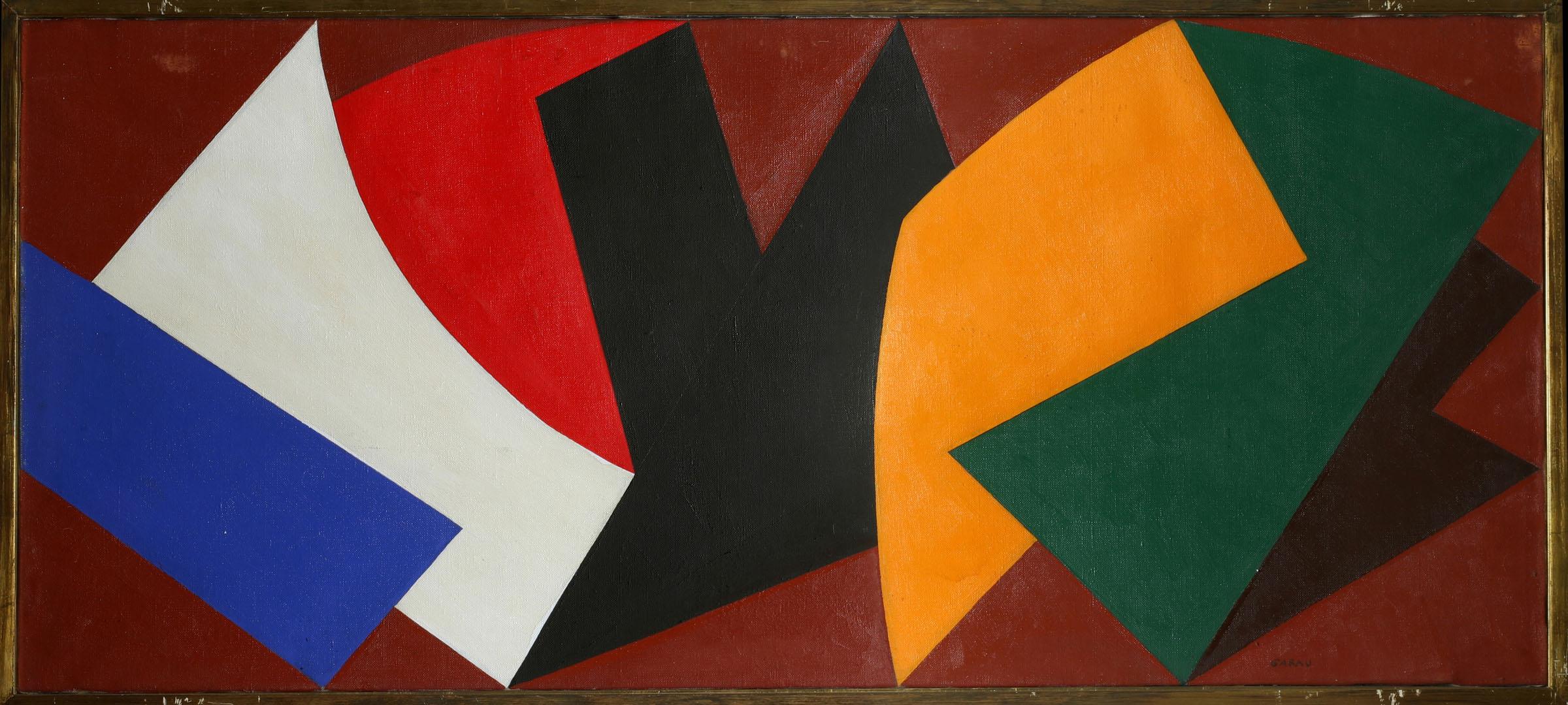 A. Garau, Composizione, 1952