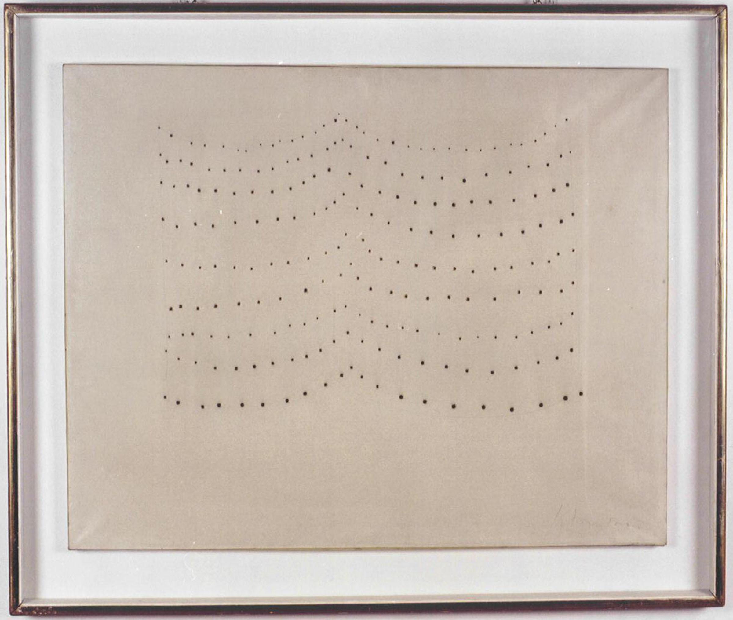 L.Fontana, concetto spaziale,1960